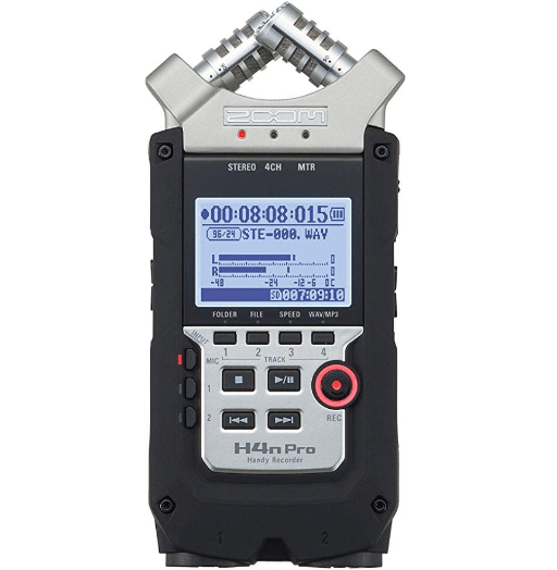 Zoom H4N PRO Digital Multitrack Recorder review